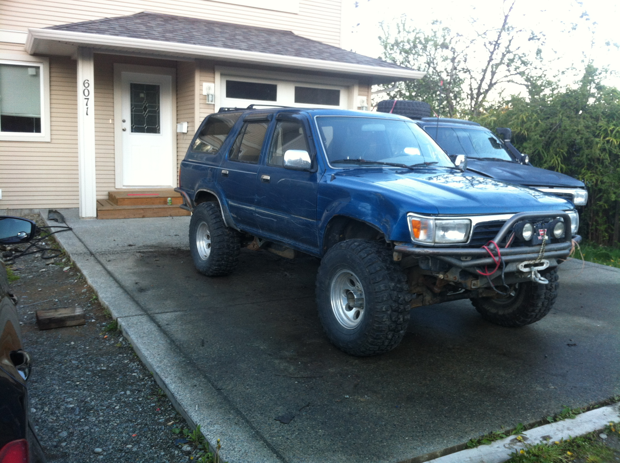 FS: 4Runner parts - whole truck, trail gear tube bumpers ...