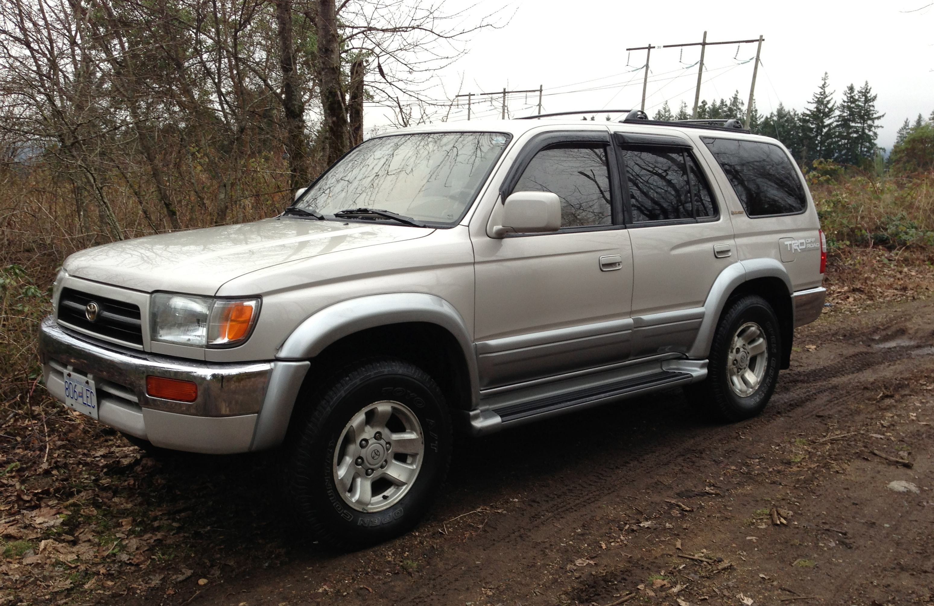 1998 toyota 4runner limited new price vancouver island off road. Black Bedroom Furniture Sets. Home Design Ideas