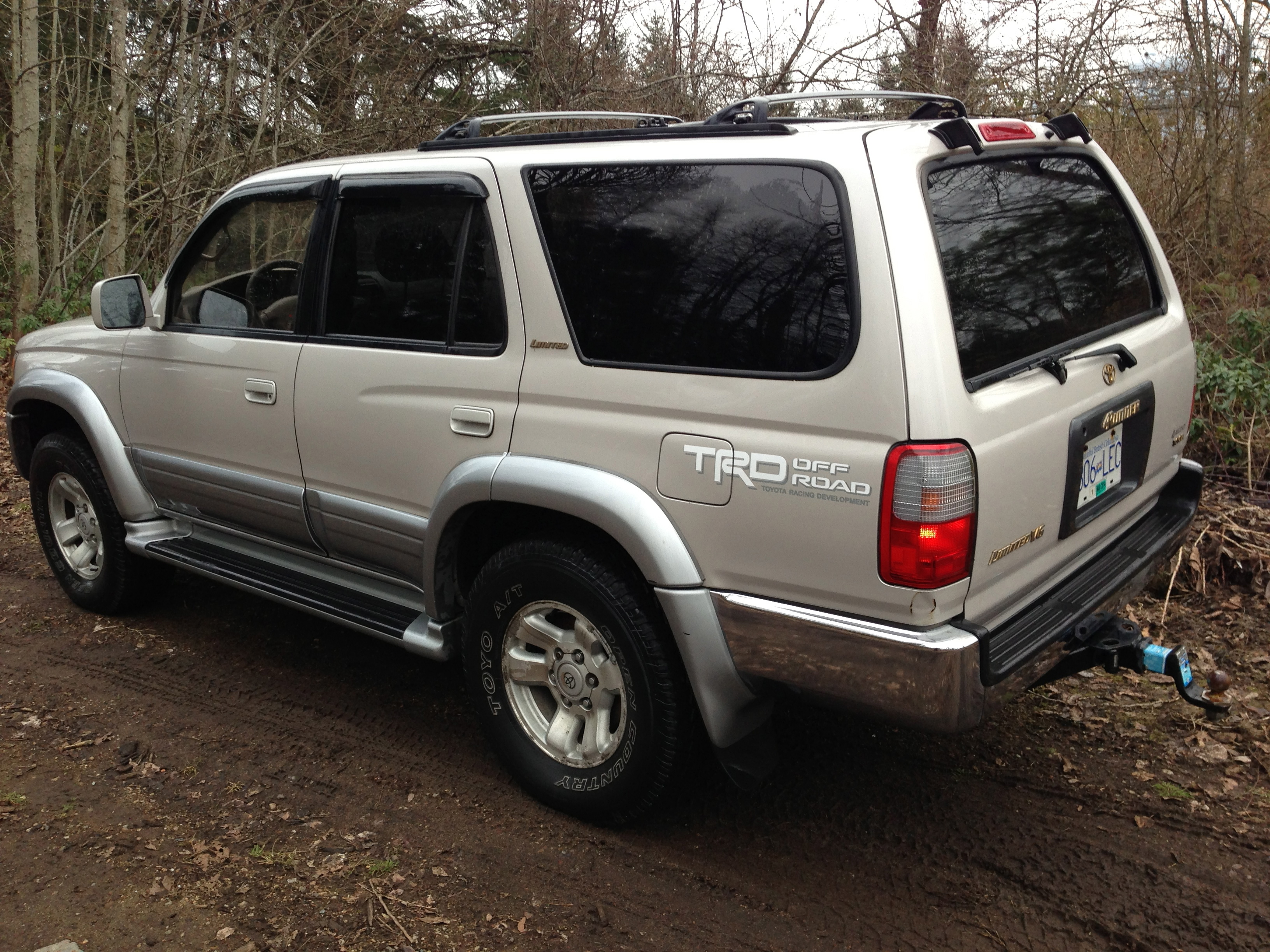 1998 Toyota 4runner Limited New Price Vancouver