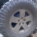 LT295/65R18 Goodyear Wrangler Duratrac Tire - never run spare