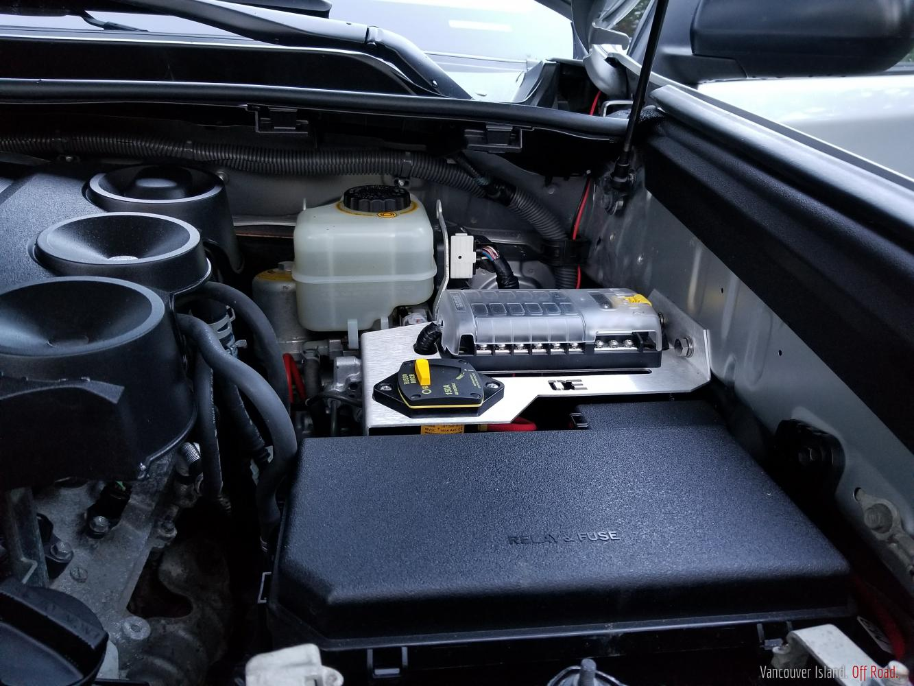 Theshanergys 2012 Toyota 4runner Vancouver Island Off Road Fuse Box Block Installed