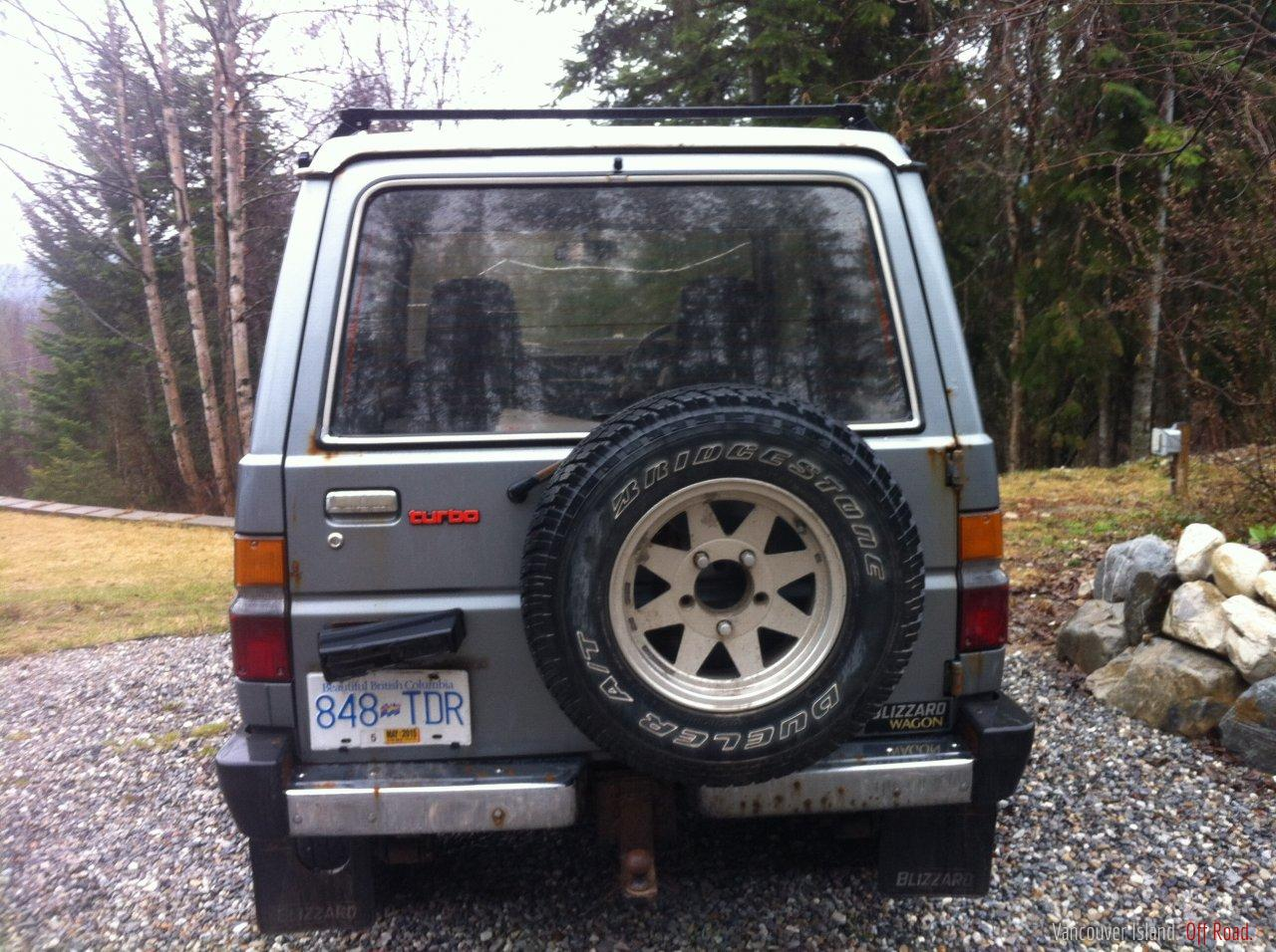 Winter Tires Vancouver >> RARE Toyota Blizzard 4x4 | Vancouver Island Off Road
