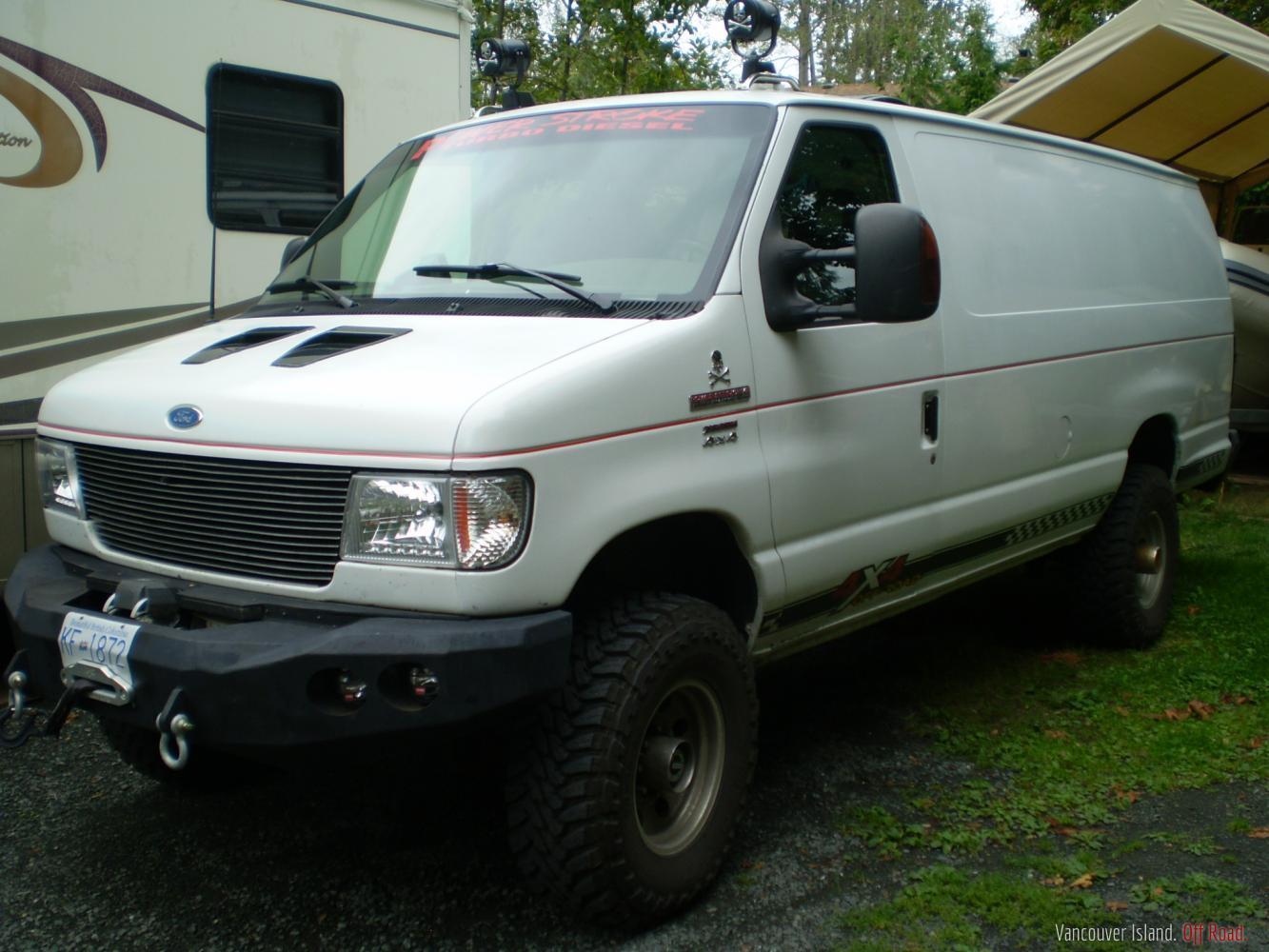 E350 4x4 ford diesel van
