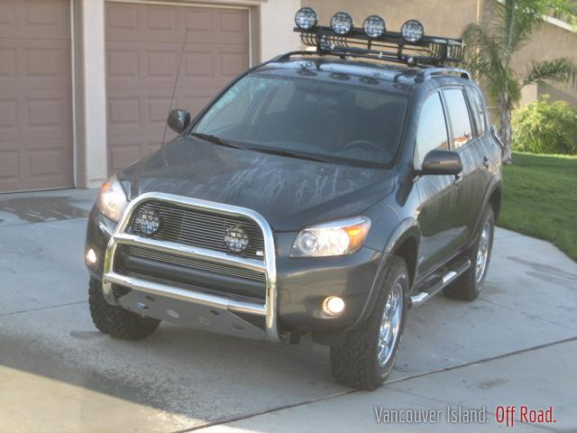 Bush or Winch Bumper or Grill guard for 2002 Rav4 or