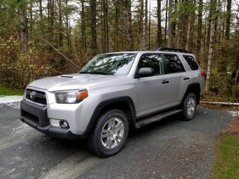 2012 Toyota 4Runner Trail stock exterior