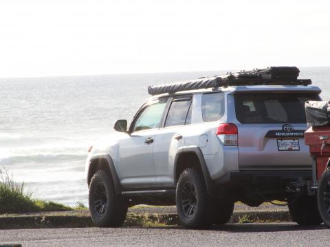 5th gen 4Runner overlanding North America - Oregon coast