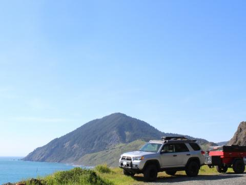5th gen 4Runner overlanding North America - Gold Beach, Oregon