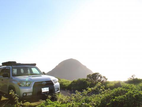5th gen 4Runner overlanding North America - Ocean and Mountains, Oregon coast