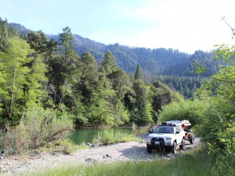 5th gen 4Runner overlanding North America - Trinity National Forest, California