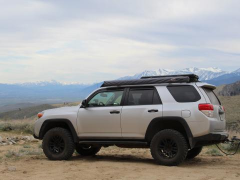 5th gen 4Runner overlanding North America - Nevada mountains