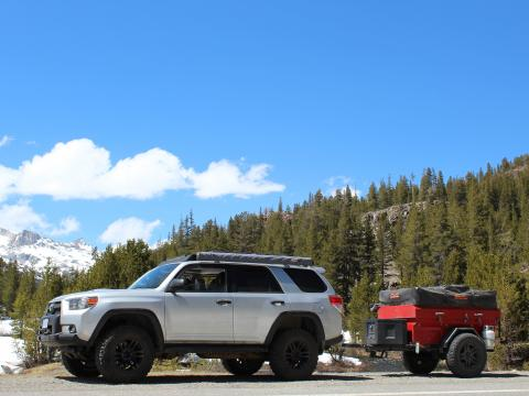 5th gen 4Runner overlanding North America - YosemiteNational Park, California
