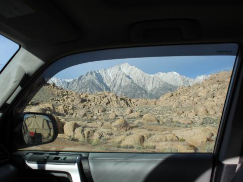 5th gen 4Runner overlanding North America - Alabama hills, California