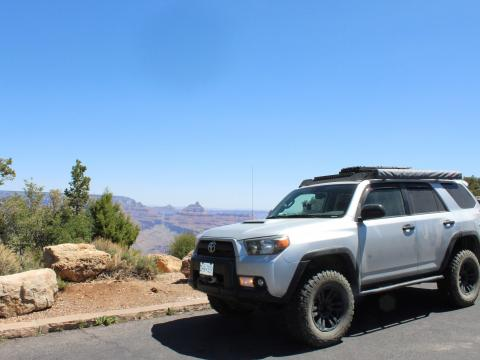 5th gen 4Runner overlanding North America - Grand Canyon, Arizona