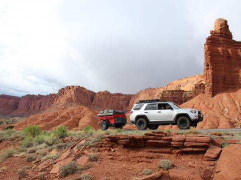 5th gen 4Runner overlanding North America - Capitol Reef National Park, Utah