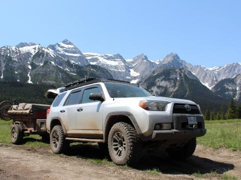 5th gen 4Runner overlanding North America - Fernie, British Columbia