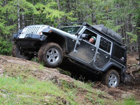 Mt Benson Jeep bypass