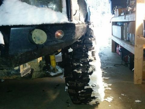 Snow but no truck - Argg!