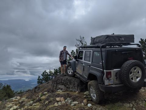 Mt Benson summit