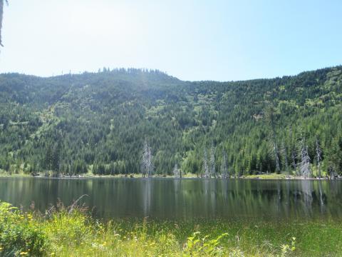 Sherk Lake, BC - off road 4x4
