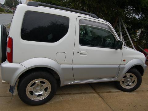 2003 suzuki jimny, right hand drive 60000 klm, 5 spd, like new, ph 250 923 2485  $15ooo obo