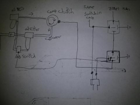 schematic to illustrate how my oil sump idea should work