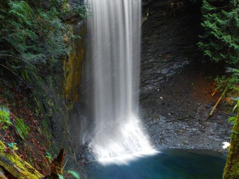 Amonite falls