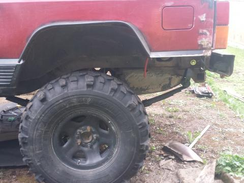 New rear springs
