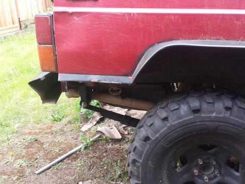 Comp cut rear quarters