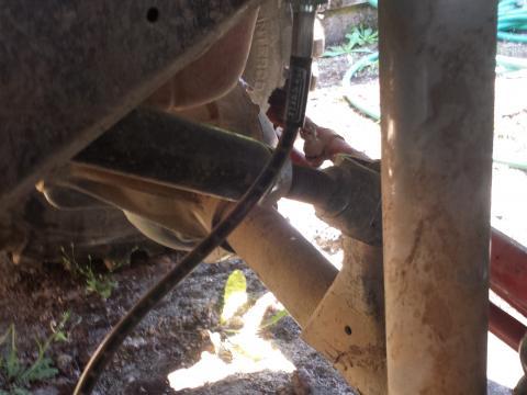 New brake lines