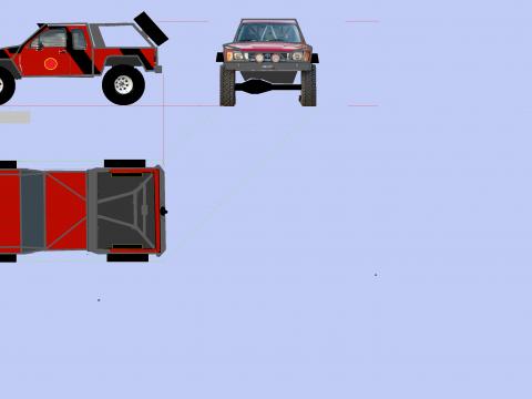 Complete Frame-up Rebuild 1991 Pickup