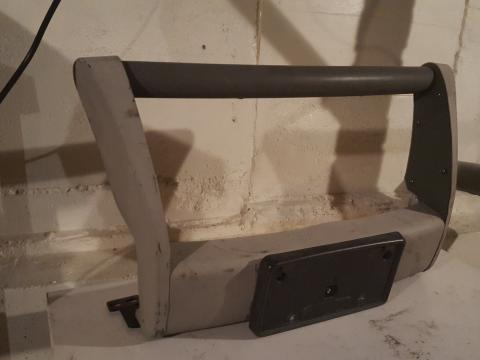 Grill Guard bumper i picked up for 80bucks i have to find a way to mount it now