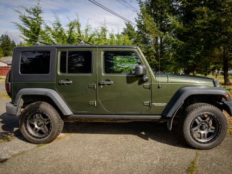 2008 wrangler rubicon unlimited for sale vancouver island off road. Black Bedroom Furniture Sets. Home Design Ideas