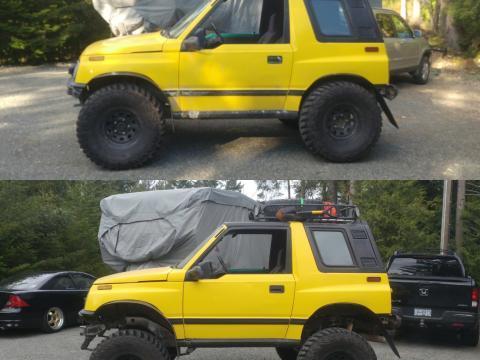 Hmm. Needs wheelbase