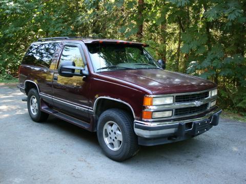 1995 Chev Tahoe 6.5 Turbo Diesel 2DR 4x4 Z71